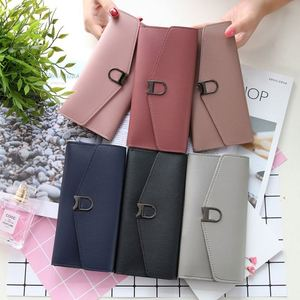TIANHOUBAG wholesale cheap purse with metal buckle with many pockets for women fashion