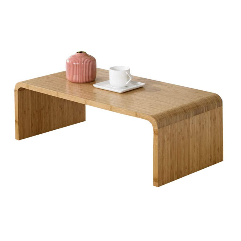 Coffee Tables Dining Table Table Dining Table Small Table Solid Wood Balcony Tatami (Color : Beige, Size : 713627cm)