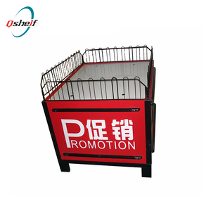food stall folded steel sales promotion table