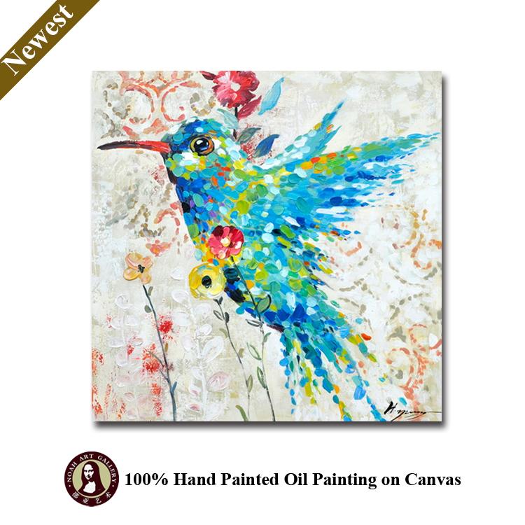 Oturma Odası Için El Yapımı Dekoratif Resimler Aşk Kuş Boyama Buy