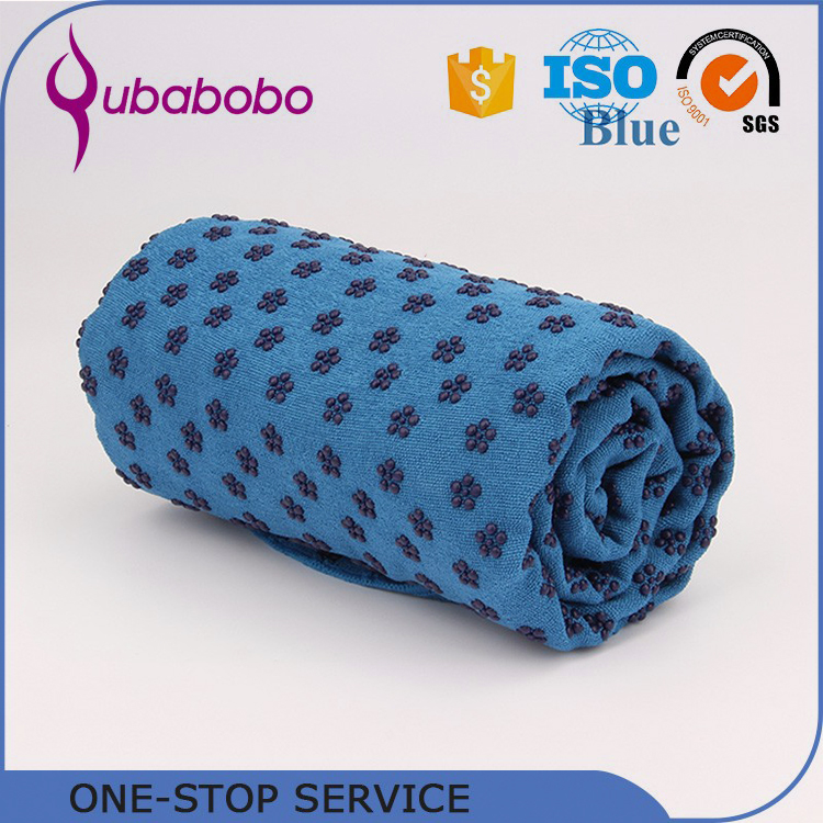 Best Quality Premium Self Rolling Yoga Towels With Logo Printing