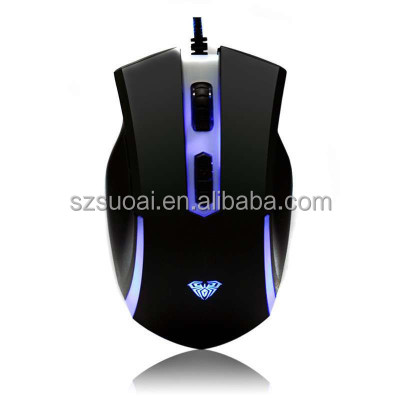 AULA SI-980 hot sales 7D mouse in cool design optical gaming mouse