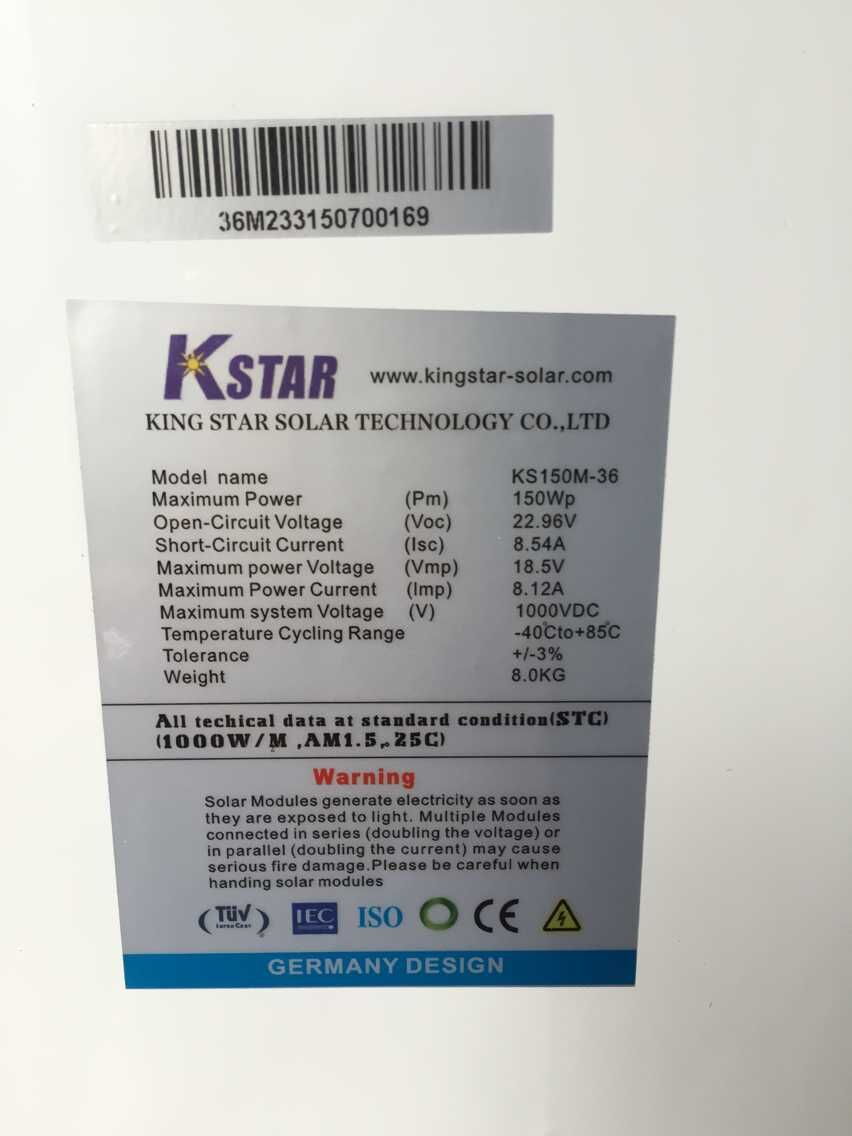 China Bosch Solar Panels Wholesale Alibaba Circuit Current Isc And Short Open Voltage