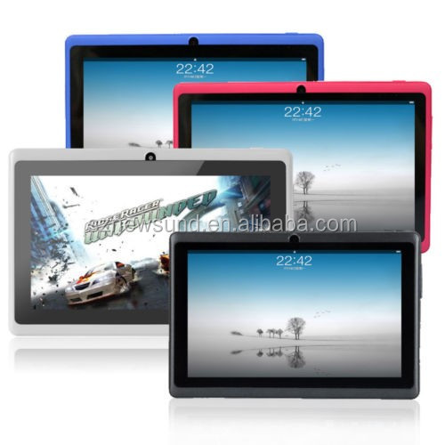2017 new hot selling 7 inch android oem tablet pc with dual sim card slot support cartoon back cover