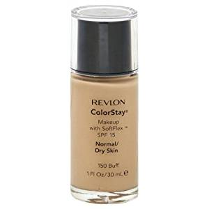 Revlon ColorStay Makeup With SoftFlex Normal/Dry Skin Buff (2-Pack)
