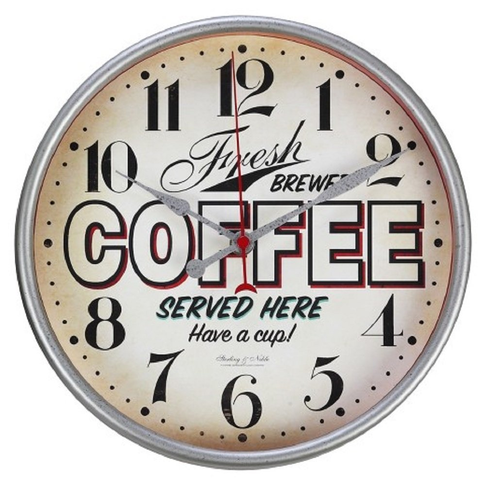 Buy Sterling And Noble Vintage Style Coffee Diner Wall