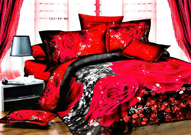 Gift Wrap Round Box Quality Bedding Red Directly From China Set King Size Suppliers New Opening All Products On Quilted