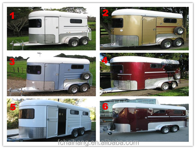China Gooseneck Living Quarters Horse Trailers, Best Horse Deluxe Living  For Australia