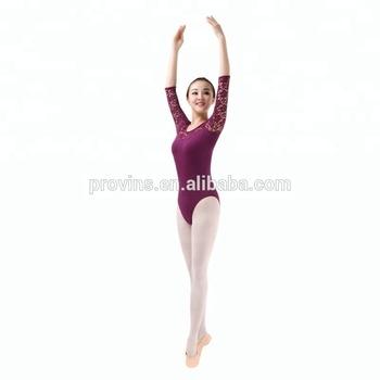 6ec4b03d8a72 Fashionable Ballet Dancewear Sexy Dancing Bodysuits Girl Lace Five ...