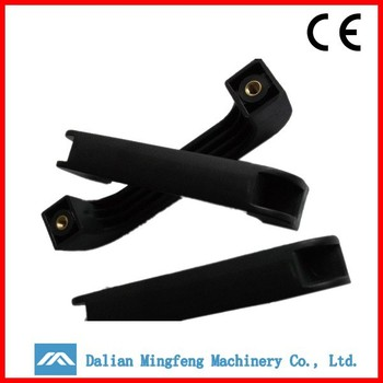 Customized Bow shape of luggage parts abs plastic handle