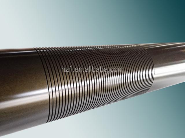 precision anodized aluminum conveyor roller, aluminum feed roller
