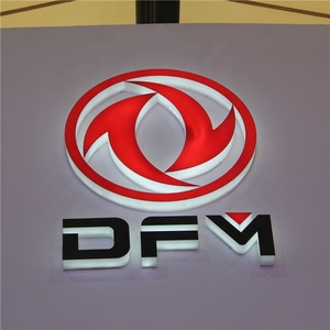 Factory directly selling modern acrylic car accessories logo for import and export