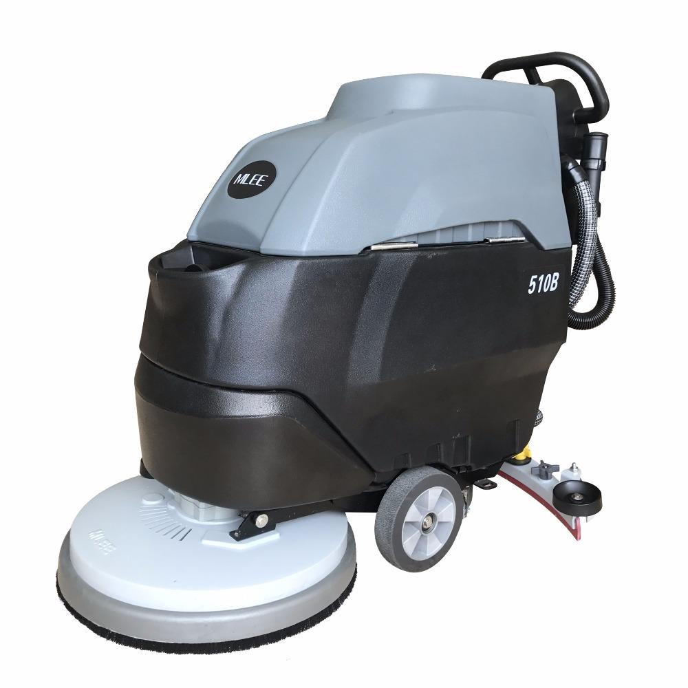 Mlee 510b Walking Portable Multi Functi Floor Scrubber Rotary Brush Battery Power Terrazzo Floor Cleaning Machine Buy Terrazzo Floor Cleaning