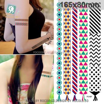 Fc 507 Boho Armband Tattoo Frauen Tribal Tattoo Designs Temporare