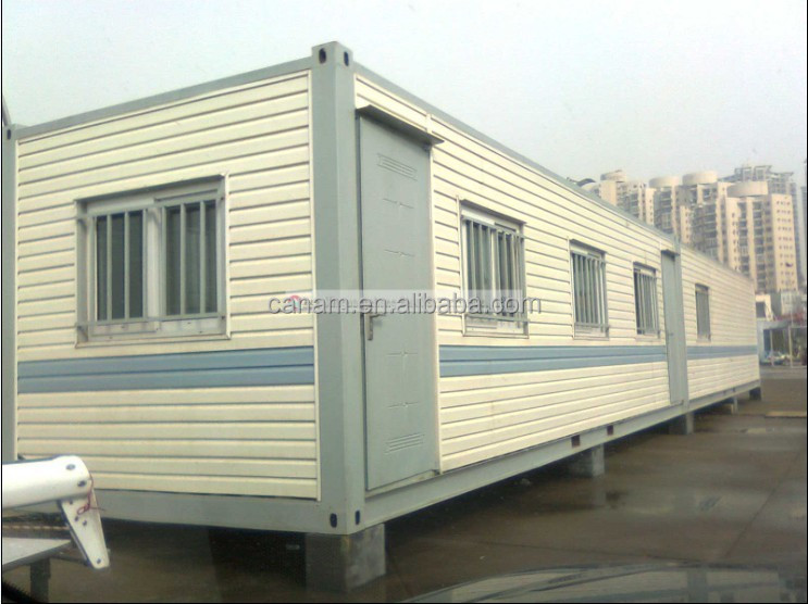 CANAM-beautiful wooden prefab mobile house steel cabin kits for sale