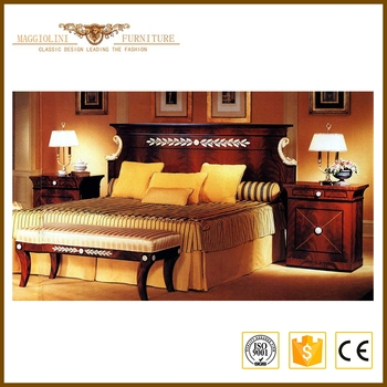 Solid Wood Classic Bedroom Furniture Set Hot Sale Promotion Solid Wood