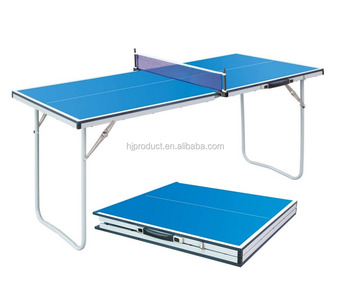 Portable And Suitcase Style Of Pingpong Table Table Tennis Table