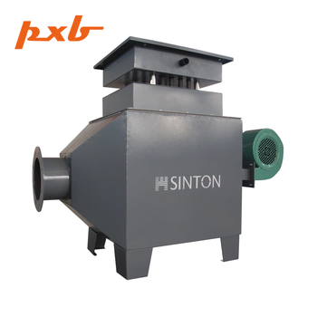Industrial electric high temperature air duct heater with temperature controller