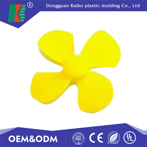 Top quality plastic injection mold small plastic abs fan blade with UL