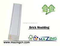 wooden manual wall brick moulding types