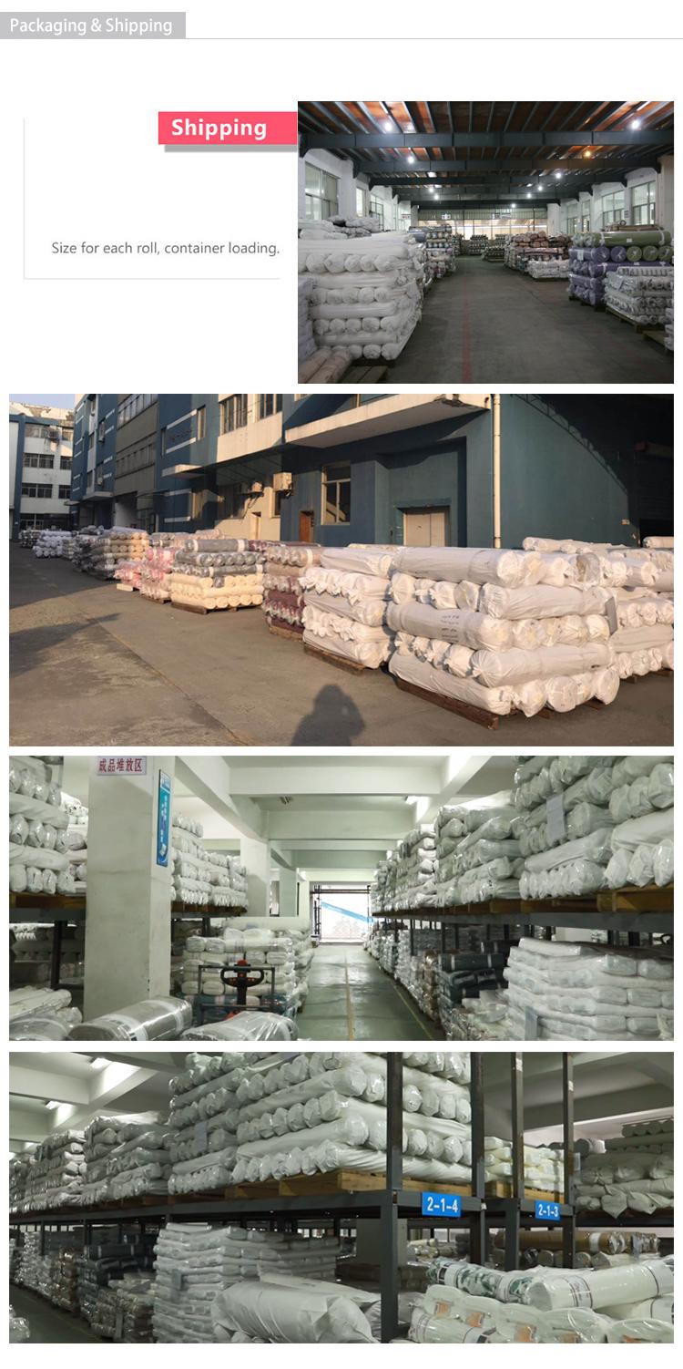 Sıcak satış % 100% polyester hazır tek parça karartma perdeleri