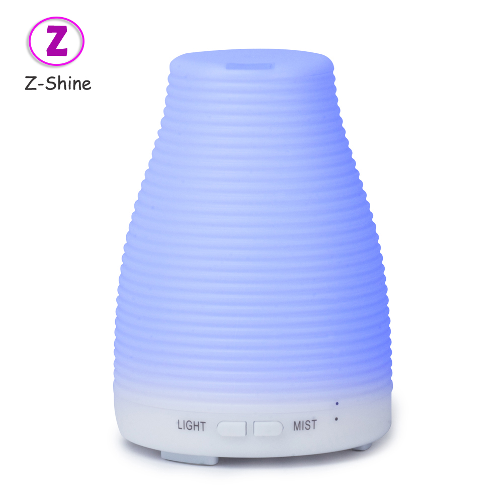 household led home air oil aroma bottle humidifier