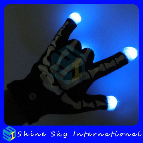 Bottom Price Top Sell Decoration Gifts Led Flashing Gloves
