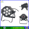 guangzhou the stage lighting 7*10w quad bright led par can led lights