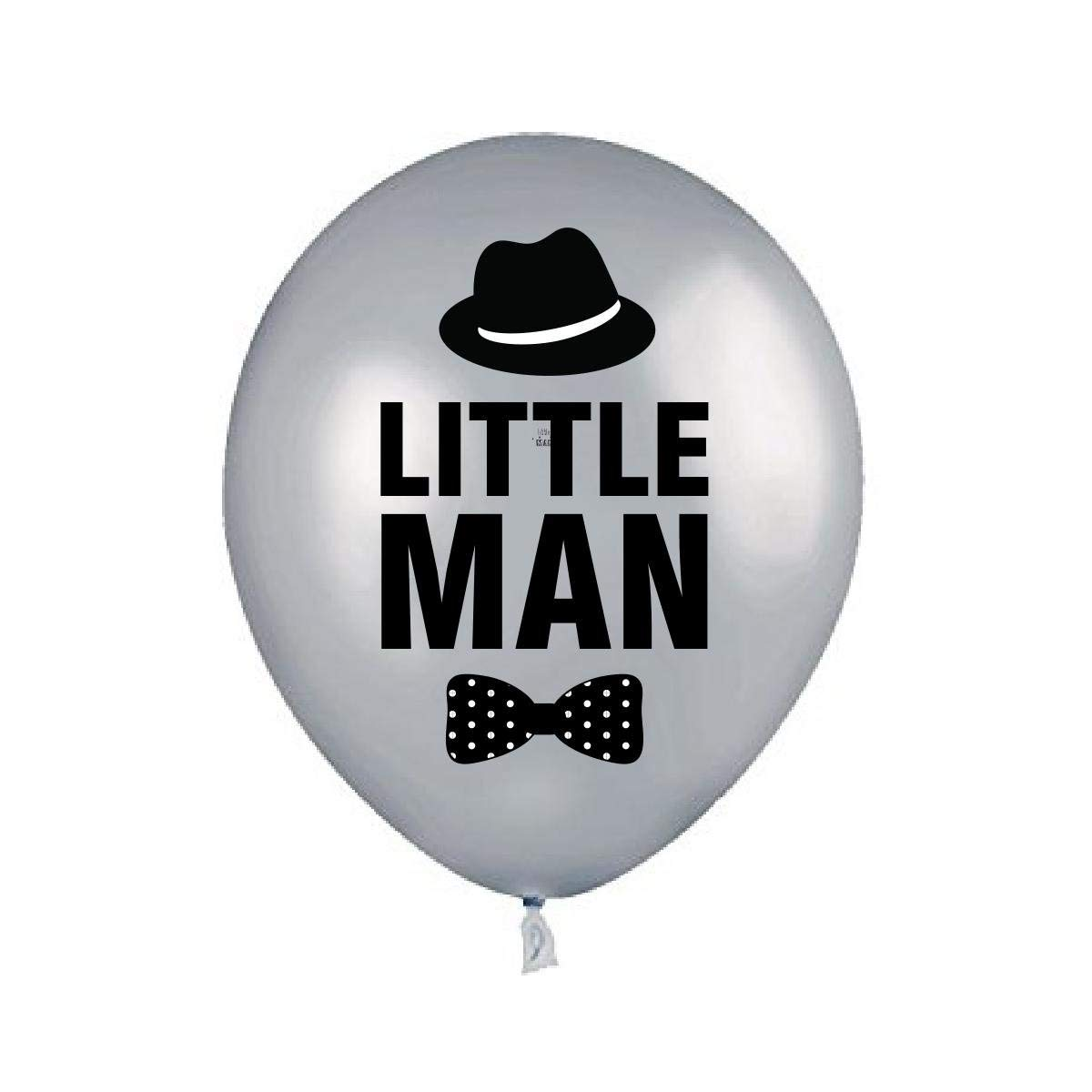 LITTLE MAN MUSTACHE 1st BIRTHDAY Balloons Decorations Supplies17 Pieces