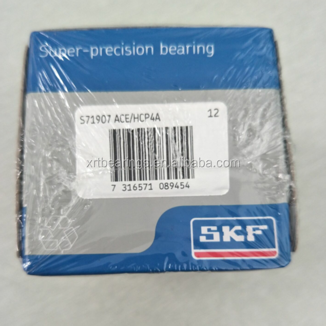 High quality SKF S71907 ACE/HCP4A Bearing Size 35x55x10mm