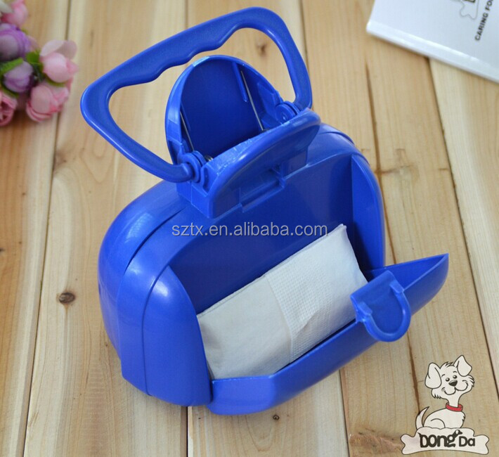 Convenient pet poop scoop 16*19*10cm for animal poops