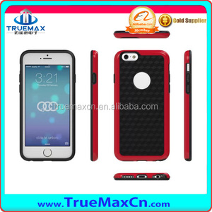 New design TPU +PC Shockproof case for iPhone 6 TPU case, High quality
