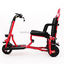 High quality cheap 3 wheels scooter electric moped