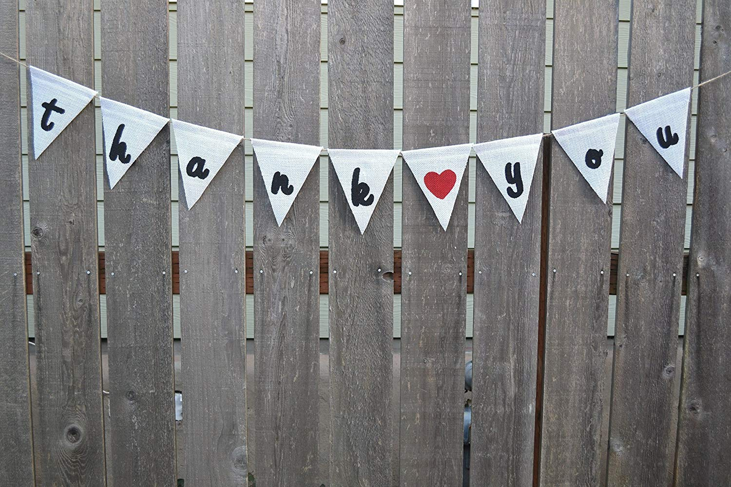 Wedding Banners and Signs, Thank you Burlap Banner, Thank you Cards, Wedding Reception Banner, Party Banner Bunting, Thanks bunting, Photography Props