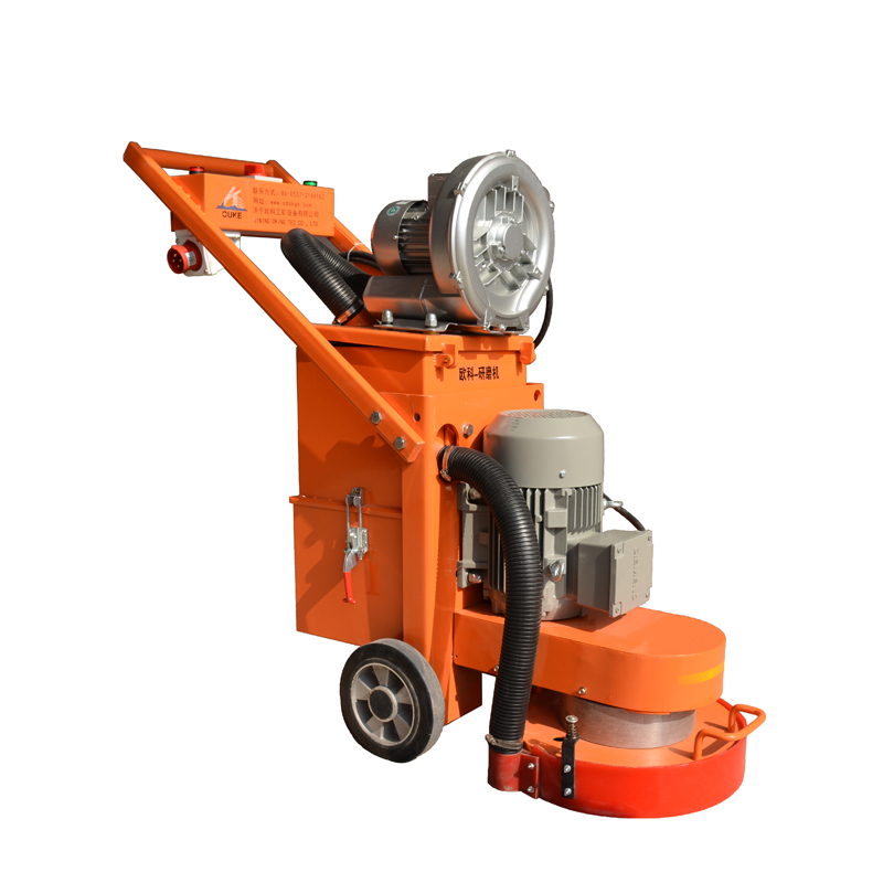 Good quality concrete diamond polishing machine,non dust concrete surface grinder,heads granite grinding and polishing