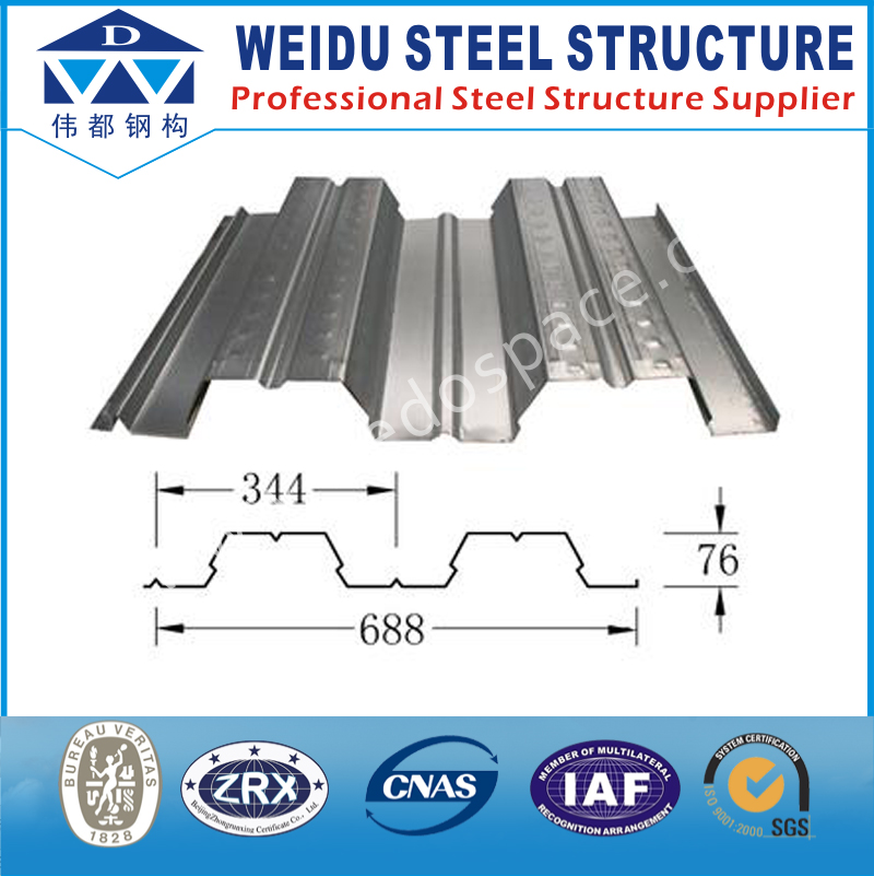 Best Selling Steel Roof Structure Galvanized Sheet Metal