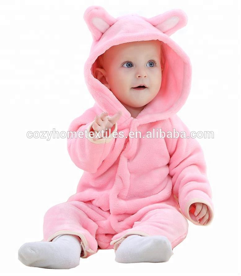 Christmas Newborn Autumn Winter Clothes Baby Boy Animal Cartoon Jumpsuit Romper