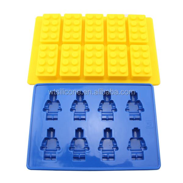 silikon lego formen f r herstellung von kerzen s igkeiten seifen und eisw rfeln kuchenger te. Black Bedroom Furniture Sets. Home Design Ideas