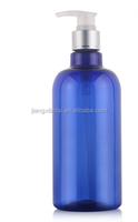 PET Blue 500ml shampoo bottles lotion bottles Cosmetic spray package bottles