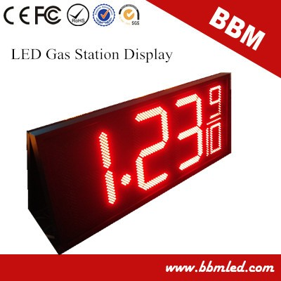 Customized outdoor gas price LED sign