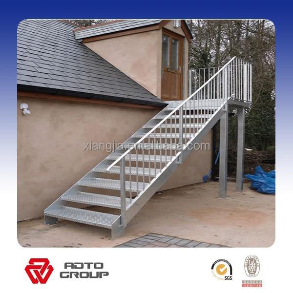 Outdoor Emergency Steel Staircase   Buy Steel Staircase,Emergency Staircase  Product On Alibaba.com