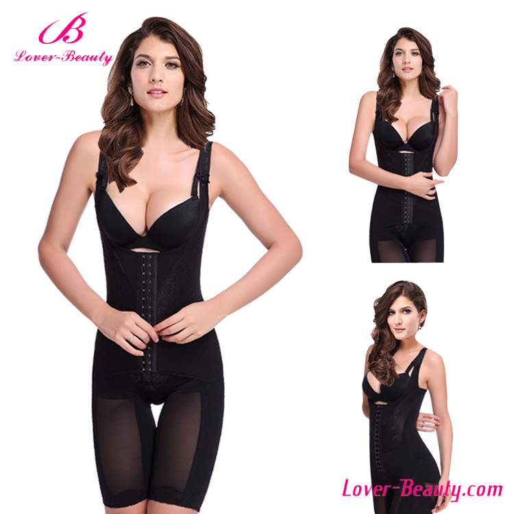 NO MOQ Black Lace Corset Ladies Underwear Slimming Women Body Shaper