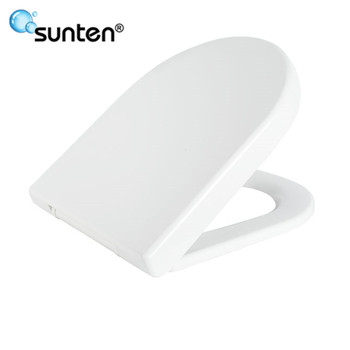 Sanitary Ware Closed Front D Shape Modern Toilet Seat Covers