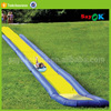 PVC tarpaulin long giant inflatable water slide for kids and adults