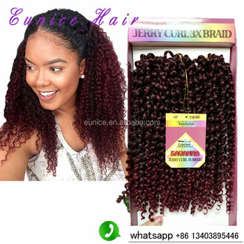 10inch Bohemian Curl Freetress Braids Synthetic Curly Crochet Braids