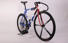 60mm alloy rim colorful road bike/bicycle fixed/fixie gear bike , single gear speed