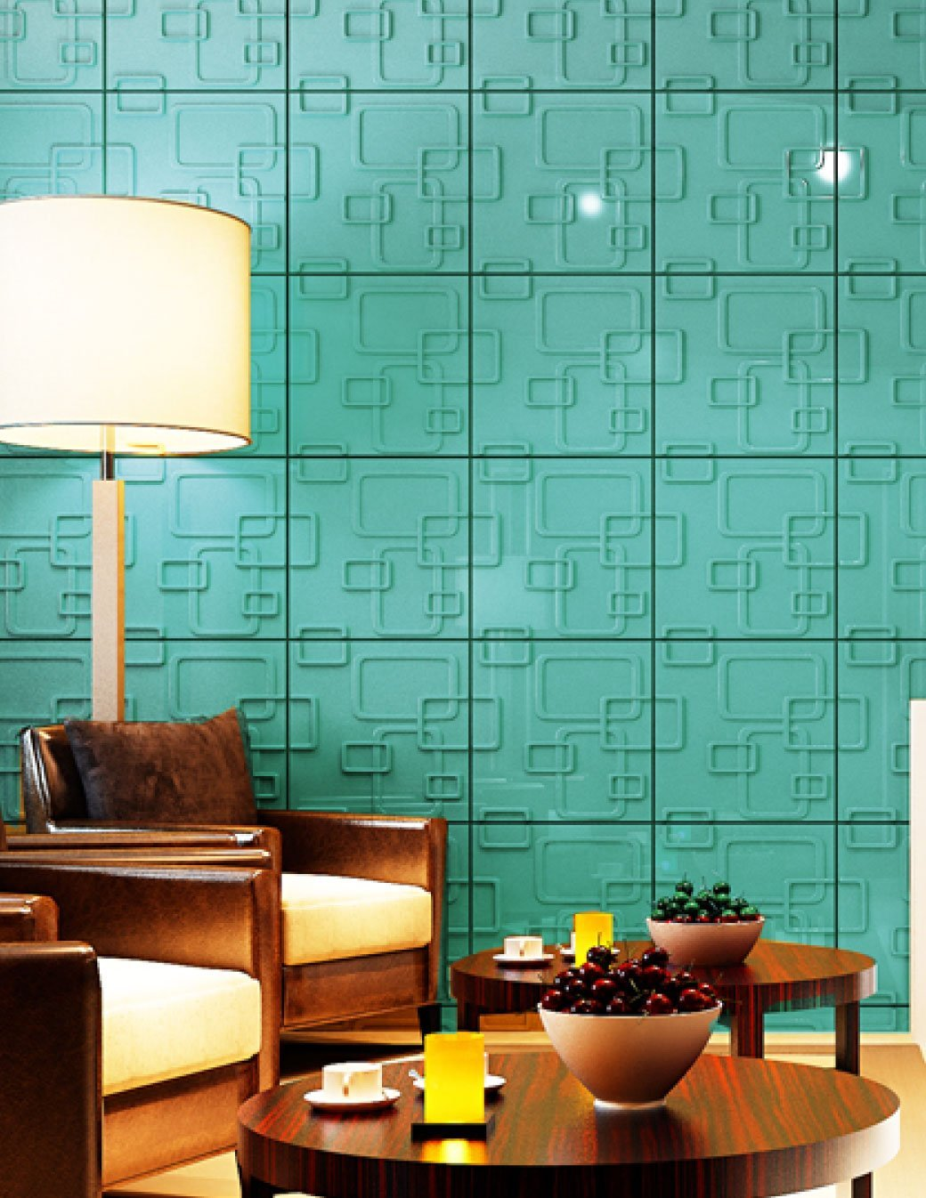 Affordable Home Innovations Modern Maze 3d Wall Panels Eco-friendly 32 Sq Ft