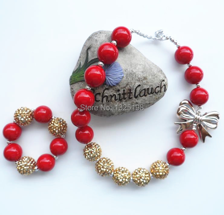 making for with img red boho necklace country jewelry heartstrings beads long