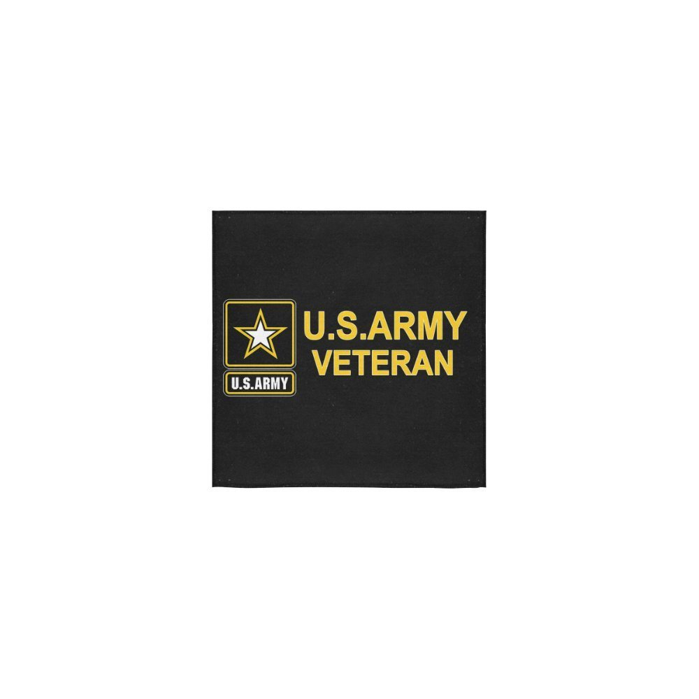 """Christmas/Thanksgiving Gifts US Army Veteran Military Thin Soft Towel 13""""x13""""(One-sided Printing)"""