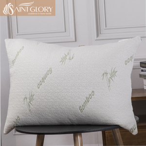 Bamboo Cover with Shredded Memory Foam Filling Pillow Hotel Home Shredded Memory Pillow